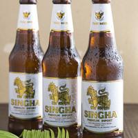 タイ料理 アジアンダイニング ワルンプアン サタニー - シンハー ビール(タイ)