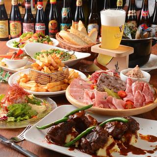 忘年会に!ベルギー伝統料理を堪能できるコース!