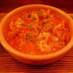 ピッコロジャルディーノ - 牛もつのトマト煮込み(850円)