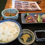 時海 - 刺身定食1100円