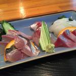 時海 - 刺身定食1100円アップ