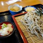 旬処こぐれ - 料理写真:ざるそば(\720税込み)甘みとは無縁ですが風味は良いと思います。