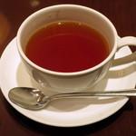 47407903 - ホット紅茶(ランチのドリンクセット)