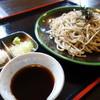 蕎麦処 ゆう - 料理写真:ざるそば(\650税込み)