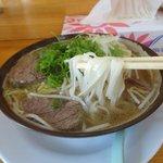 ドンアン - 料理写真:牛すじ入りフォー(800円)
