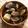 アサリとムール貝の白ワイン蒸し