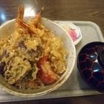 梅乃家 - 上天丼(¥1.200)※夜に訪問