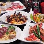 DIXON SALOON - 肉料理やパスタ・ピザなど、気取らず食事を楽しめる