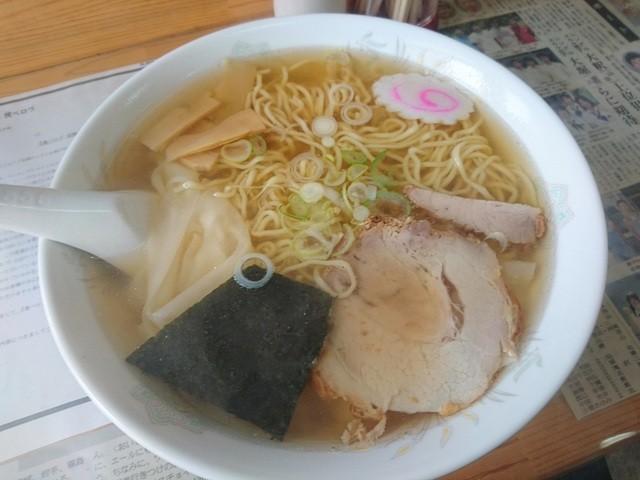 福 - ワンタン麺大盛り