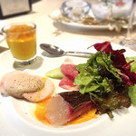 リストランテ ラ・リサータ - 前菜盛り合わせ