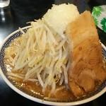 らーめん つけ麺 雅狼 - ニンニク無し雅狼ラーメン普通盛り750円