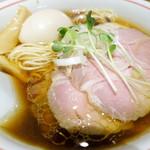 麺尊 RAGE - 料理写真:特製軍鶏そばアップ