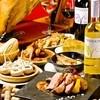 マドリード - 料理写真:【歓送迎会・忘新年会コース】イベリコ黒豚の鉄板焼き付☆料理8品+飲み放題プラン
