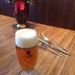 47415044 - ここのビールの提供温度が好きです(^^)