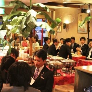 結婚式2次会・開店5年で300組超の実績!成功の秘訣あり!