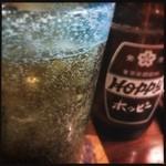 まあさんどう - 琉球グラスで泡盛ホッピー!