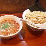 いつ樹 - 海老つけ麺¥750大盛り¥100