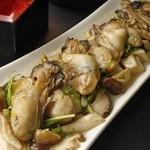タチヒコ キッチン310 - 季節によりございます。牡蠣のさっと焼き