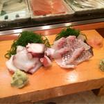 鮨いち - タコブツと鯛