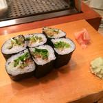 鮨いち - カイワレ細巻き