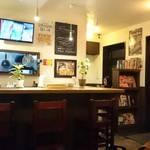 スパイスカフェ ベロデカ - カウンター席