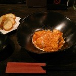 創作DINING KI-RA - KI-RA流 エビのチリソース(1200円)