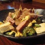 うるま島 - 料理写真:当店人気ナンバーワン沖縄料理 ゴーヤーチャンプルー