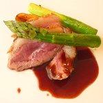 Restaurant au Sauvage - ラム。バルサミコ系ソースうま~