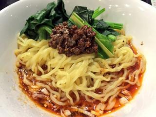中国料理 鈴 - 四川坦坦麺(汁なし坦坦麺)アップ