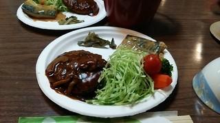 根石岳山荘 - 夕食