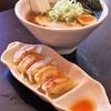 Menyashirosaki - 料理写真:醤油らーめん&手作り餃子