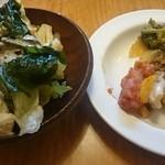 どん亭 - 料理写真:ランチ惣菜&サラダバーの料理