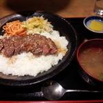 47432461 - 2016.1サーロインステーキ丼\1,080