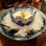 良平家 - 自家製チーズ豆腐。うまい!