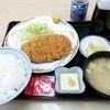 食堂 ときわ - 料理写真:林SPFロースかつ定食 1,000円(税込)膳にはとんかつソースが付いてきた