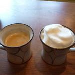 豆庵 - 有機珈琲と豆乳ラテ