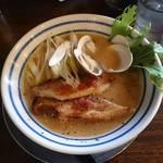 47436453 - コラボ麺!!貝そば(830円)