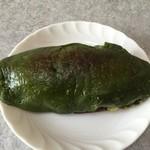 峠茶屋 - 料理写真:抹茶あずきをチンした!