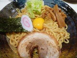 桜木 - 油そば(生卵入り)