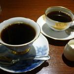 自家焙煎珈琲工房 カフェ バーンホーフ - 珈琲2種15.12