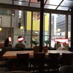 里山カフェ - 温室に居るみたい♪