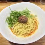 汁なし担々麺 麻沙羅/まさら - 汁なし担々麺(2辛)
