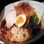 Sara & 鯛介 - 特製担々麺(しる有り)