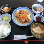 千陽 - えびす浜膳1080円