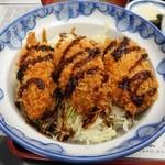 杉乃家 - カキフライ丼(定食)