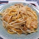 杉乃家 - 浪江焼そば(定食)