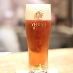 もちづき - 生ビール
