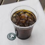 THIS 伊豆 SHIITAKE バーガーキッチン - アイスコーヒー
