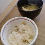 まる兵衛 - アサリご飯