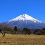 そばの実 一閑人 - 朝霧高原からは富士山の景観も素晴らしい。